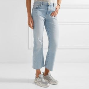 Current/Elliott The Kick Cropped Flare Jeans 26